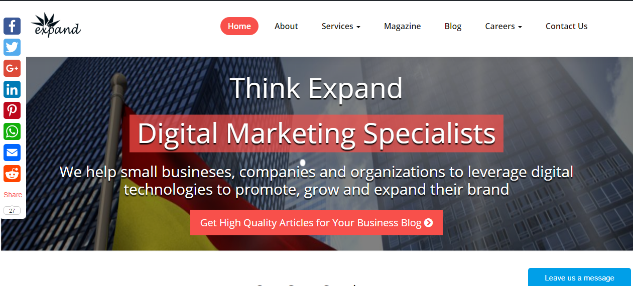 Think Expand: Small Business Digital Marketing Specialist