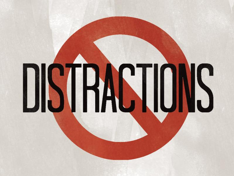 Avoid Distractions and Unproductive Activities
