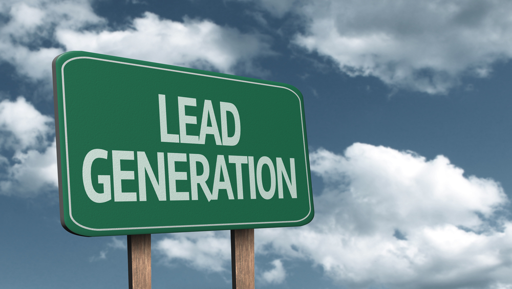 We convert our visitors into leads/prospects