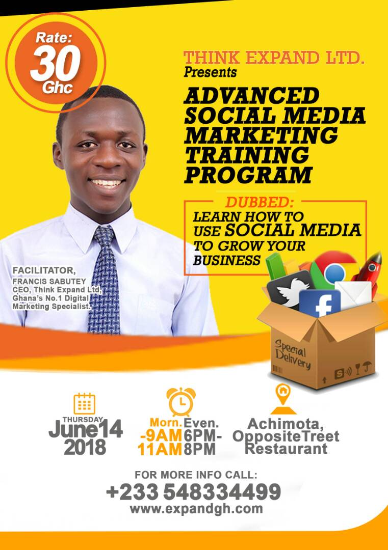 Advanced Social Media Marketing Program