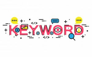 use keywords in website page